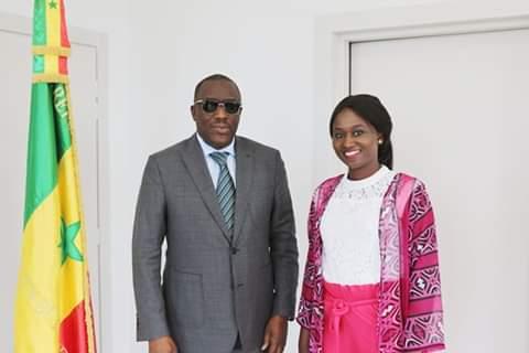 Concours MT 180: le Ministre Cheikh Oumar Hanne appuie la représentante du Sénégal, Catherine Penda Mbaye