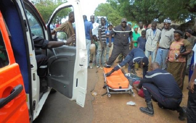 Les incroyables images de l'accident à Thiadiaye