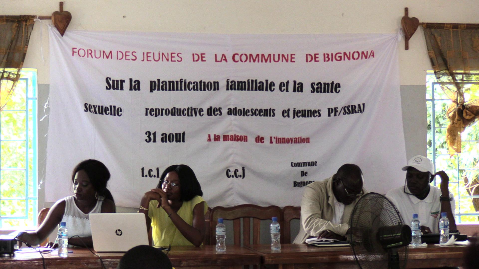 Bignona : LA commune et TCI arment les jeunes sur la santé reproductive