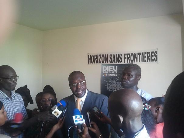 Boubacar Seye...Le Collectif des Sénégalais de la Diaspora