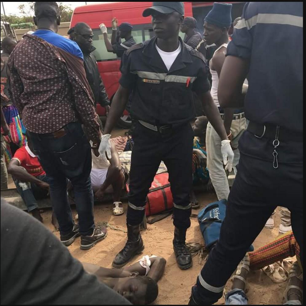 Louga : un mort et trois blessés graves dans un accident