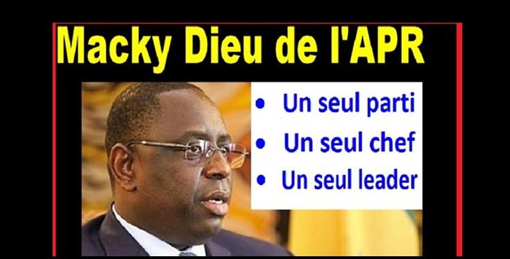 Macky Sall : « Que celui qui n'est pas d'accord démissionne… »