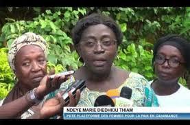 Casamance: La plateforme des femmes se réjouit de l'accalmie et appelle à la vigilance