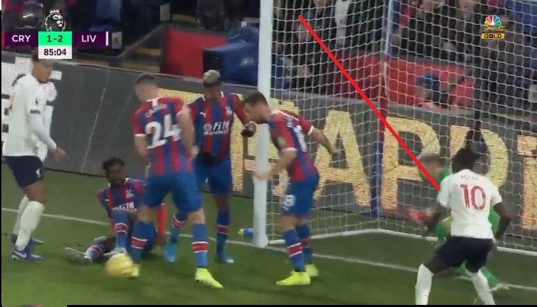 Liverpool s'impose à Crystal Palace...Sadio Mané a marqué