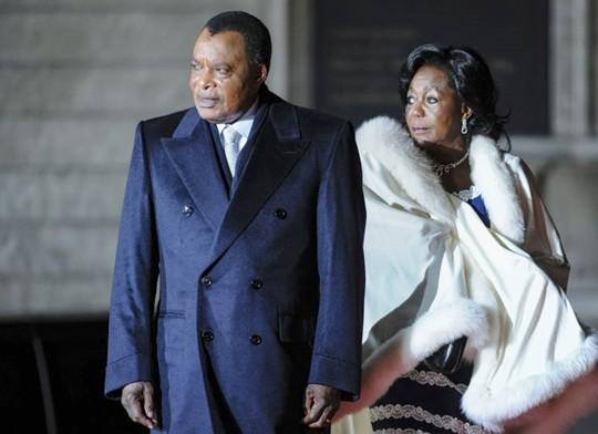 La femme de Sassou Nguesso du Congo devient présidente du