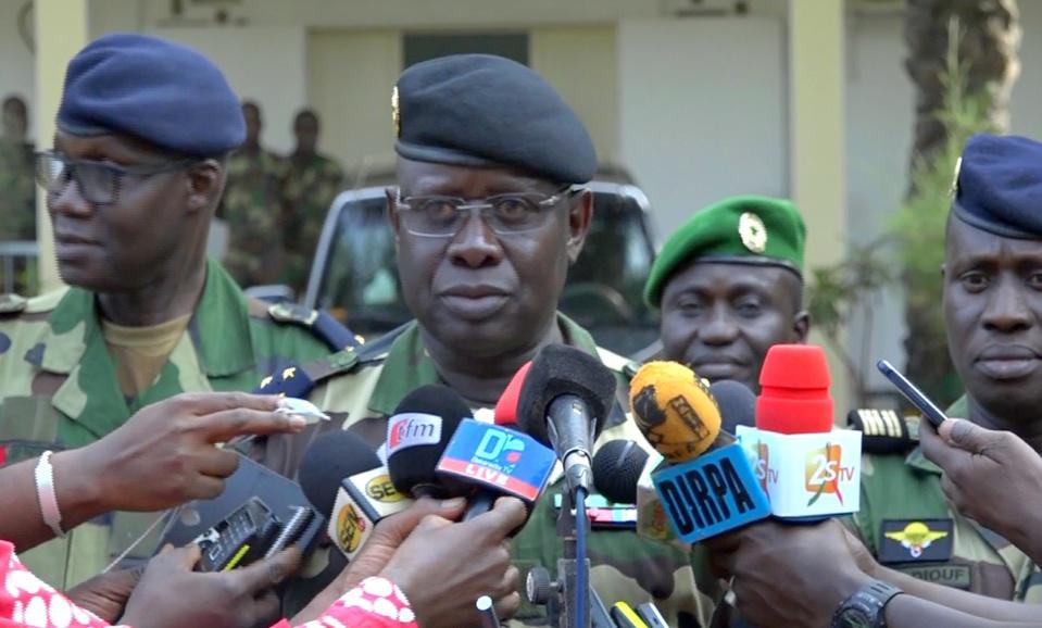 Le Général Cheikh Guèye annonce le renouvellement des équipements de l'armée…