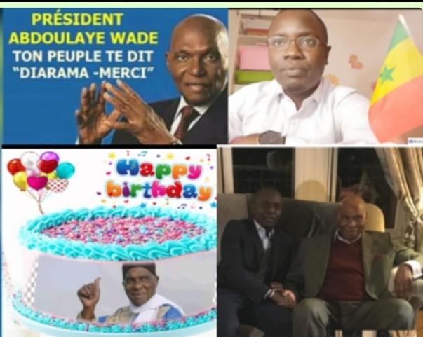 Le PDS France célèbre le président WADE