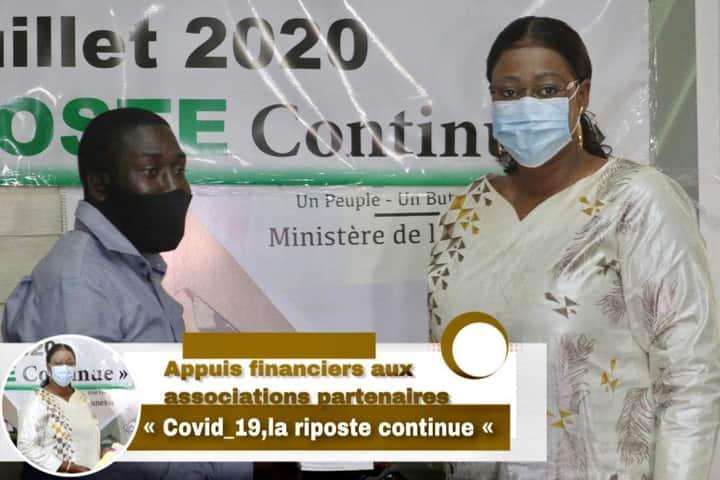 Madame Fatoumata Néné Tall sort de son sommeil et subventionne enfin les jeunes