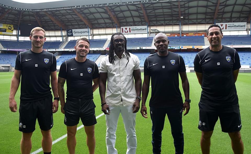 FC Sochaux : Aliou Cissé rend visite à Oumar Daf