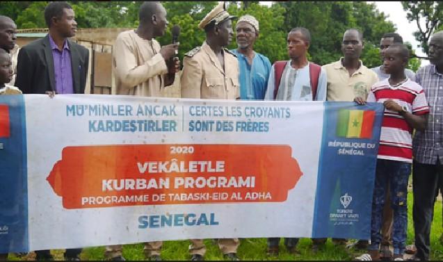 Kédougou : Une fondation turque fait don de 200 bœufs