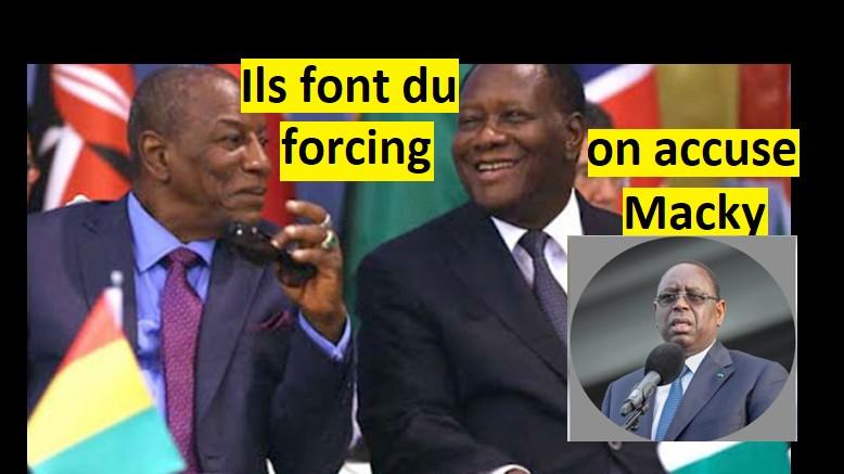 3ème mandat...Macky Sall accusé
