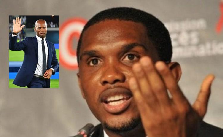 Eto'o soutient Drogba à la tête de la FIF