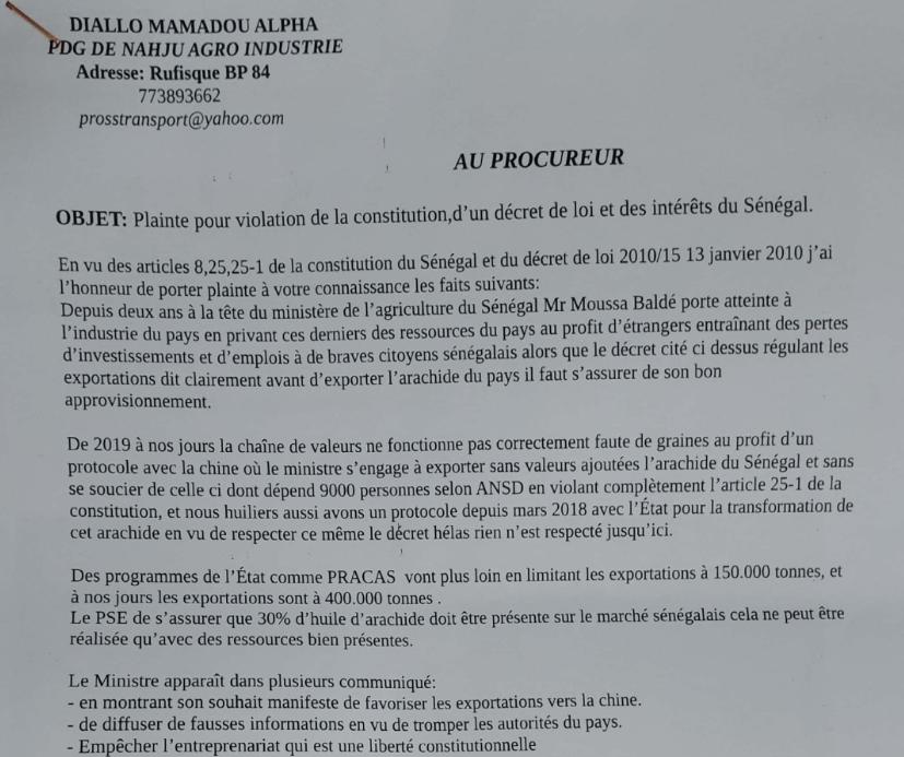 plainte - Senenews - Actualité au Sénégal, Politique, Économie, Sport