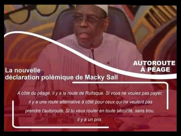 Du Jamais vu ! Macky défend Eiffage…il abandonne les Sénégalais pauvres
